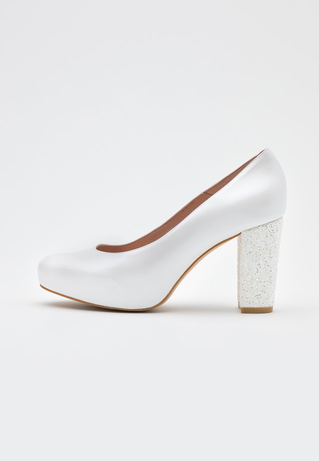 High Heel Pumps - fantasia blanco