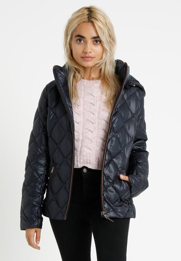 Lauren Ralph Lauren Petite - PEARL SHEEN HOOD - Down jacket - navy
