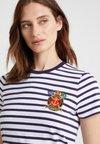Polo Ralph Lauren - T-Shirt print - white/new navy