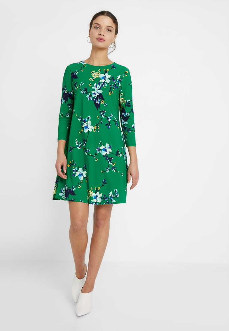 Lauren Ralph Lauren Petite - ABBI 3/4 SLEEVE DAY DRESS - Jerseykjoler - green