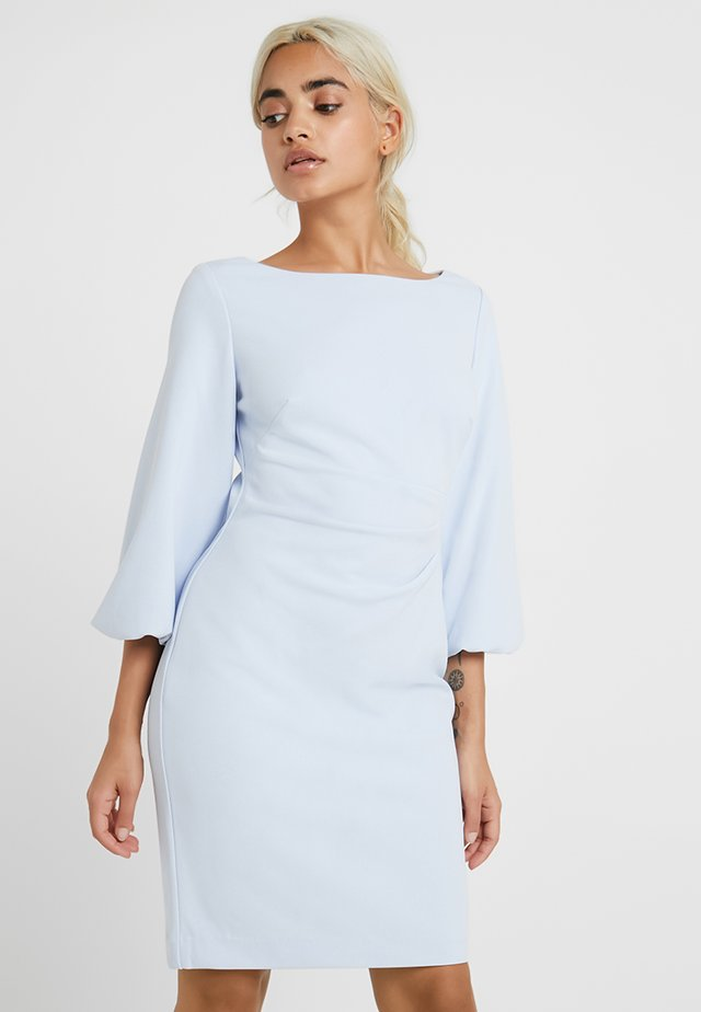 LOUISA ELBOW SLEEVE DAY DRESS - Shift dress - blue