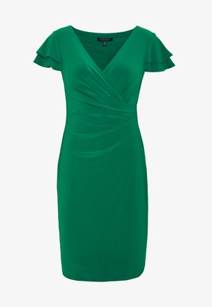 PICA SHORT SLEEVE DAY DRESS - Pouzdrové šaty - malachite