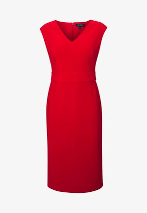 JANNETTE CAP SLEEVE DAY DRESS - Etuikjoler - persimmon