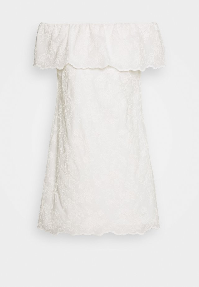 CASSIDY - Day dress - white