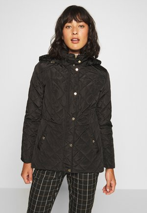 MOTO QUILTED JACKET - Kurzmantel - black