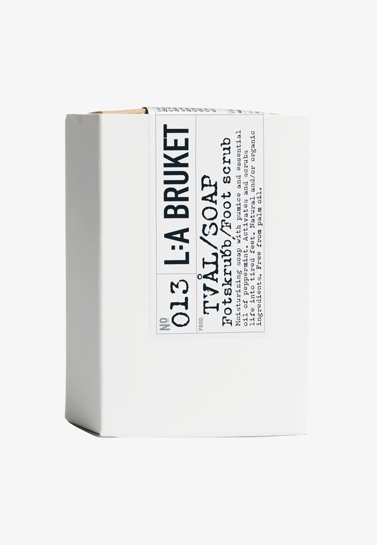 L:A Bruket - BAR SOAP 120G - Soap bar - no.13 peppermint