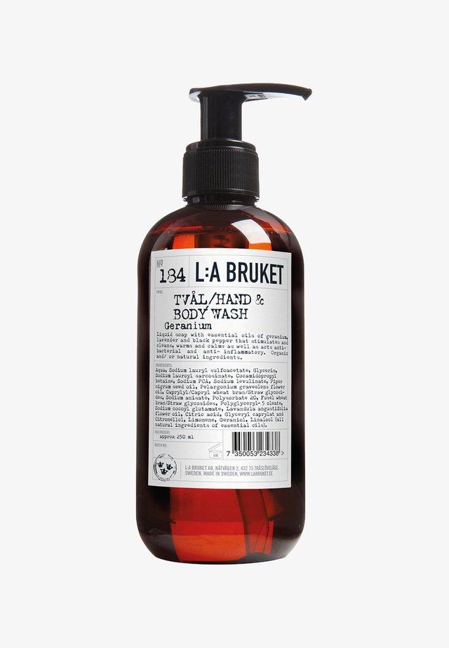 LIQUID SOAP 250ML - Flüssigseife - no.184 geranium