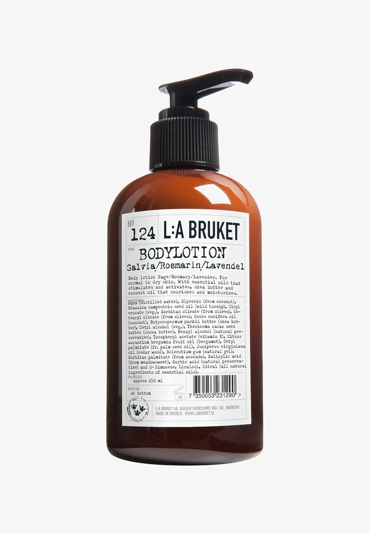 L:A Bruket - BODY LOTION 250ML - Moisturiser - no.124 sage/rosemary/lavender