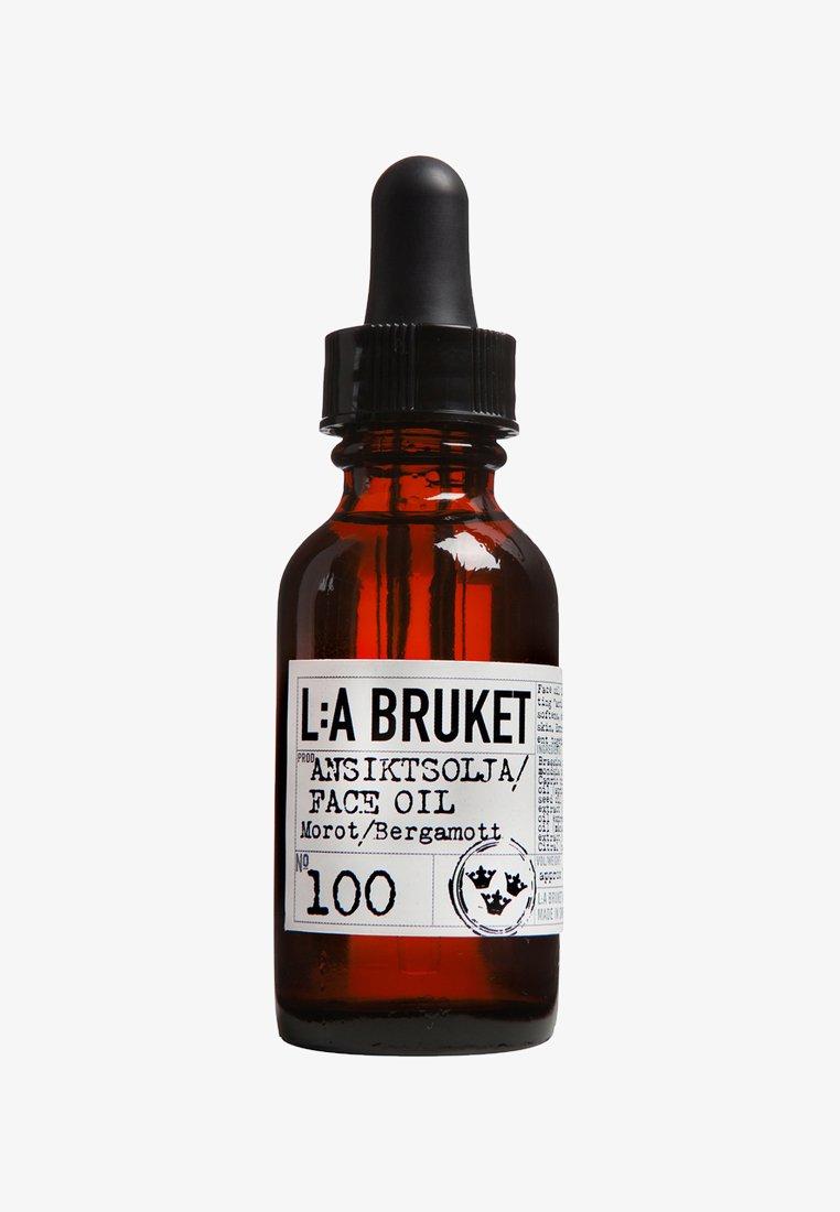 L:A Bruket - FACE OIL 30ML - Face oil - no.100 carrot/bergamot