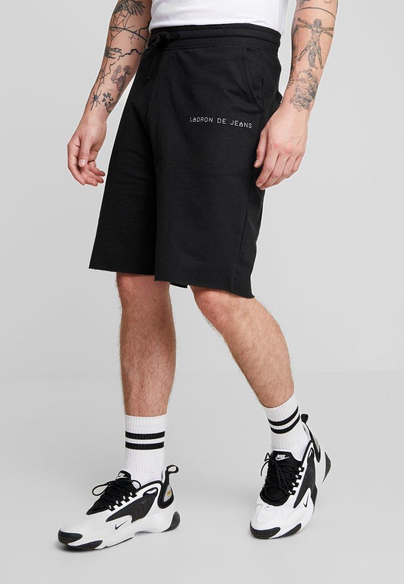 Ladron De Jeans - RAW EDGE - Shorts - black