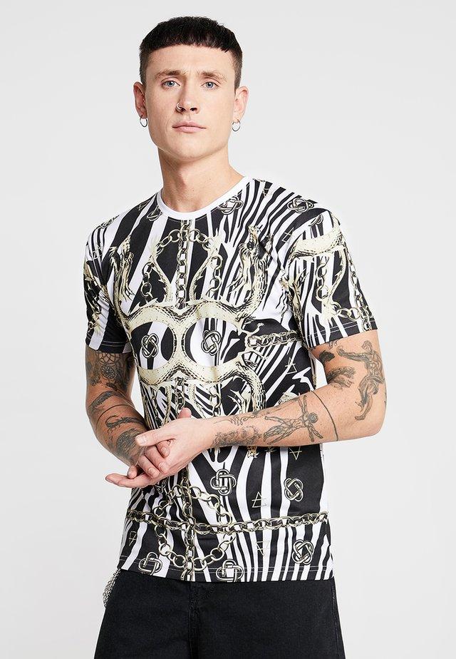 GANDO TEE - T-shirt con stampa - white