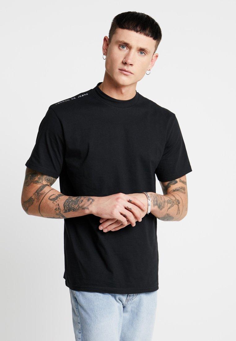 Ladron De Jeans - SHOULD TEE - T-Shirt print - black