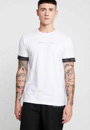 JESE CUFF TEE - T-shirt print - white