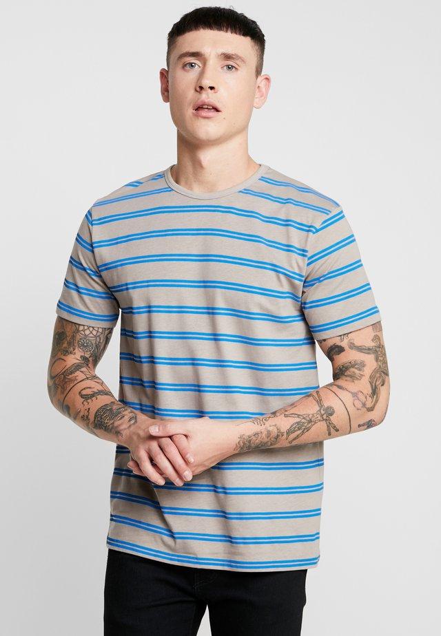 JAYJAY STRIPE TEE - T-Shirt print - grey