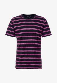 Ladron De Jeans - JAYJAY STRIPE TEE - T-shirt imprimé - black - 4