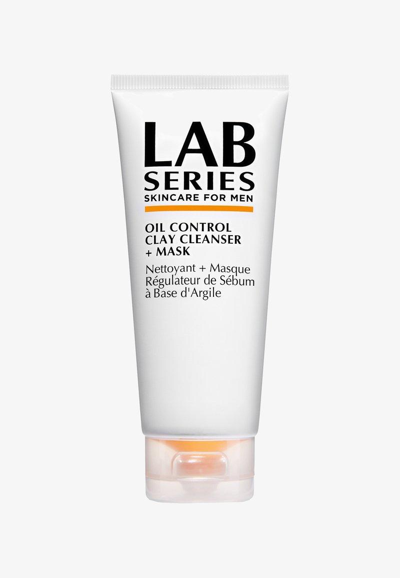 Lab Series - OIL CONTROL CLAY CLEANSER+MASK - Ansigtsmaske - -