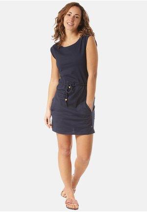 KLEID LUENA - Jersey dress - blue