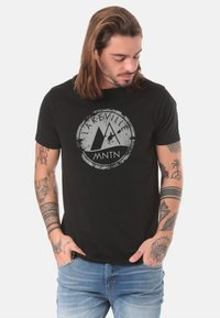 Lakeville Mountain - Print T-shirt - black - 0