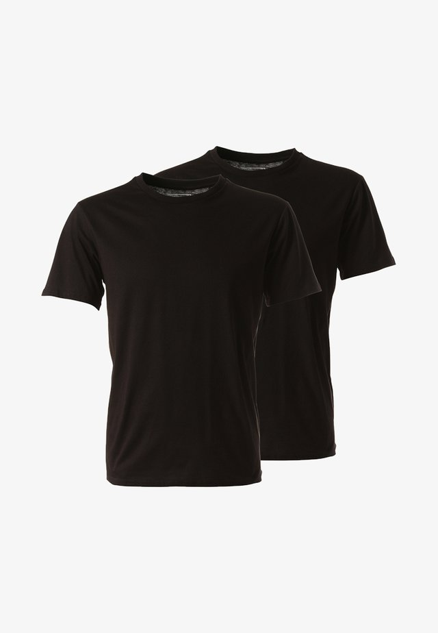2PACK - Basic T-shirt - black