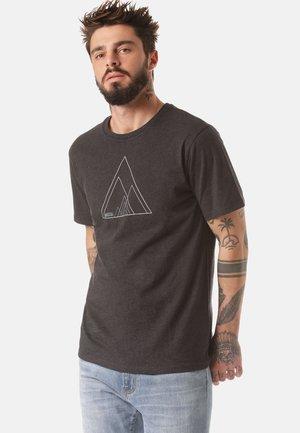 MOUNTAIN T-SHIRT SINO - Print T-shirt - grey
