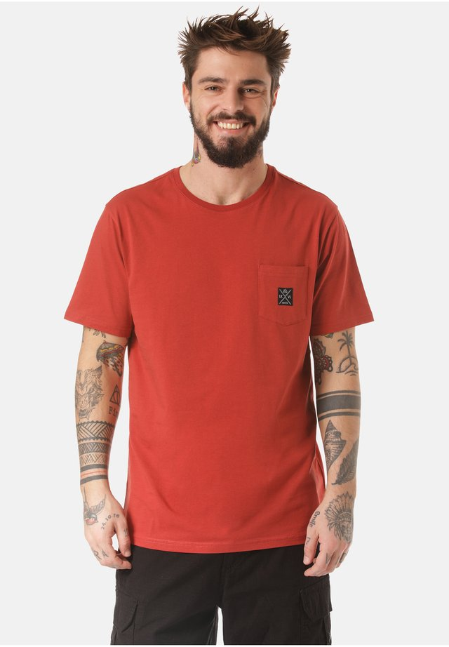 MOUNTAIN T-SHIRT MATOPO - Basic T-shirt - orange