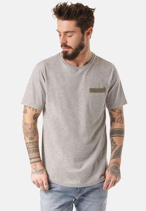 MOUNTAIN T-SHIRT DALO - Print T-shirt - grey