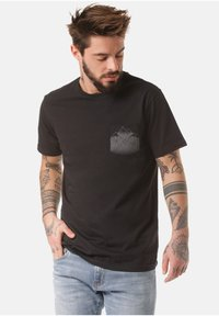 Lakeville Mountain - MOUNTAIN T-SHIRT DEBO - Print T-shirt - black - 0