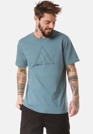 T-SHIRT SINO - Print T-shirt - blue