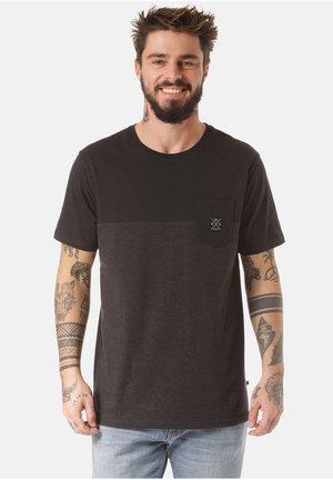 MOUNTAIN T-SHIRT MUKONO - Print T-shirt - grey