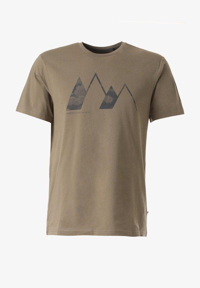 T-SHIRT NALUT - Print T-shirt - green