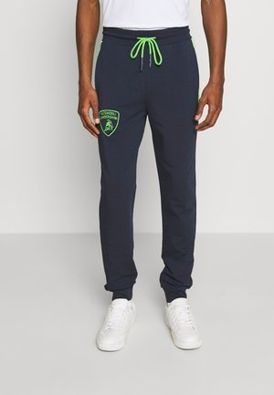 SHIELD LOGO JOGGERS - Tracksuit bottoms - prussian blue