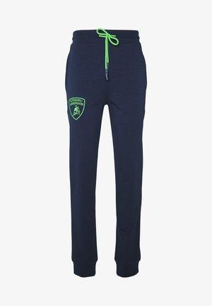 SHIELD LOGO JOGGERS - Pantalon de survêtement - prussian blue