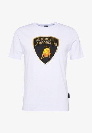 BIG LOGO  - T-shirt imprimé - white