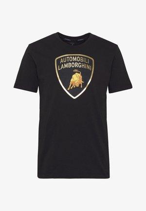 BIG LOGO  - T-shirt con stampa - black