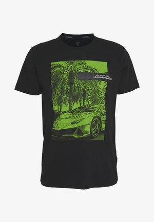 PHOTO PRINT - T-shirt imprimé - black