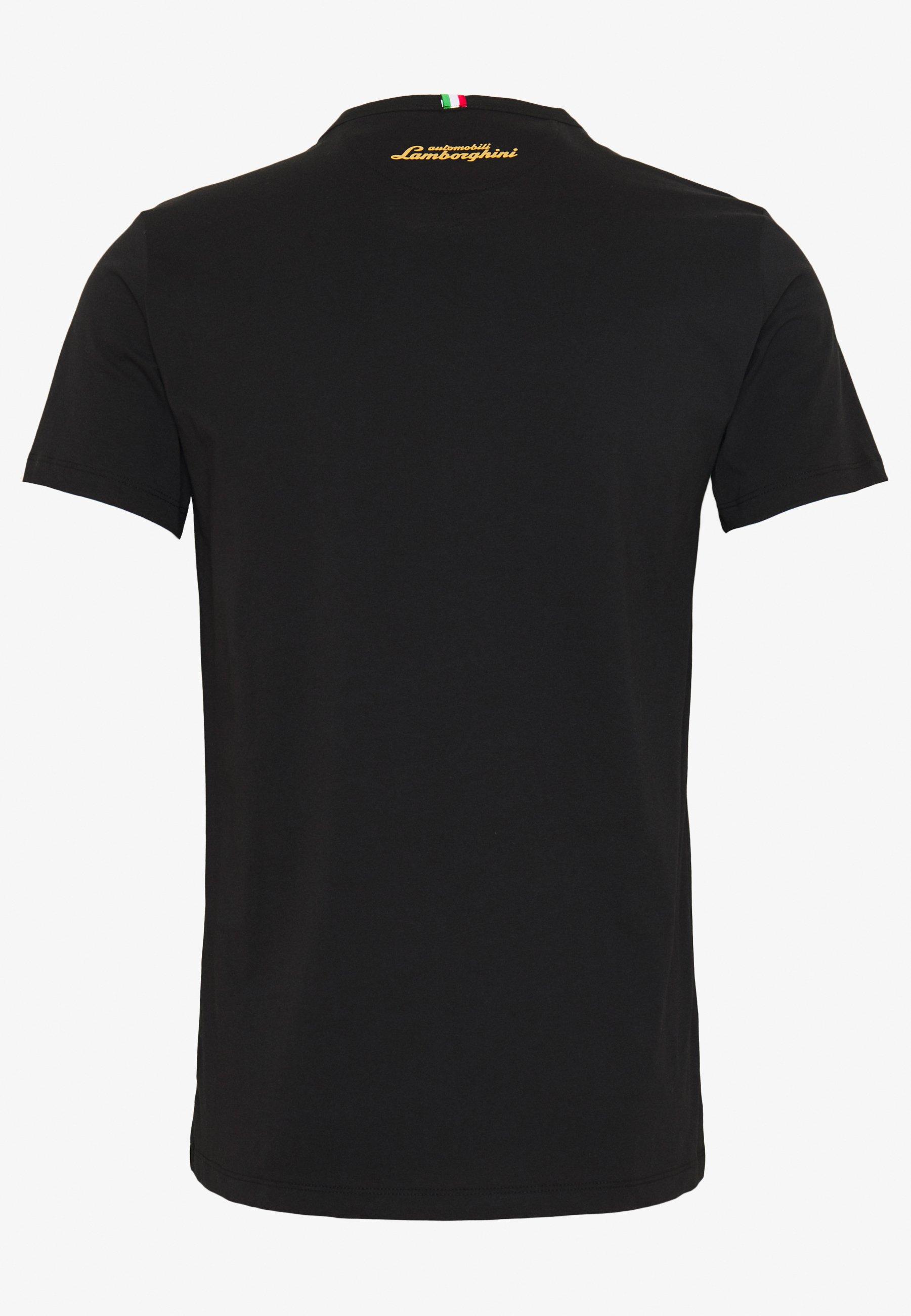 Lamborghini Crew Shield - T-shirt Bas Black