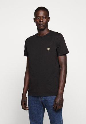 CREW SHIELD  - T-shirt imprimé - black