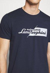 Lamborghini - CUT LOGO - T-shirt imprimé - prussian blue - 4