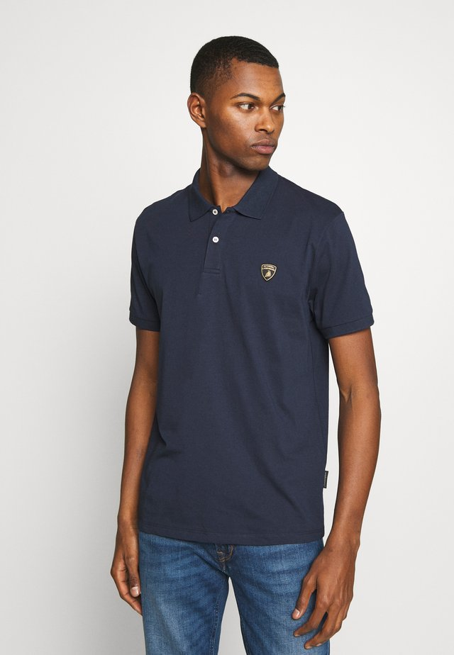 SHIELD LOGO  - Poloshirts - prussian blue