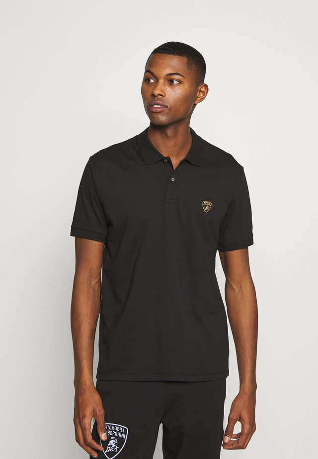 SHIELD LOGO  - Poloshirts - black
