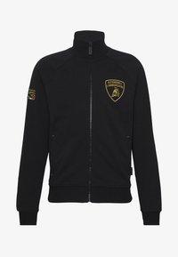 Lamborghini - SHIELD LOGO TRACK JACKET - veste en sweat zippée - black - 4