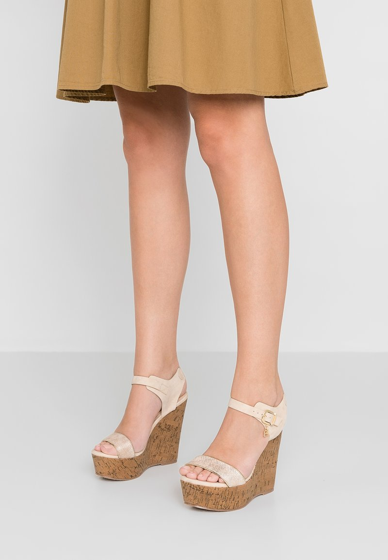 Laura Biagiotti - High heeled sandals - sand