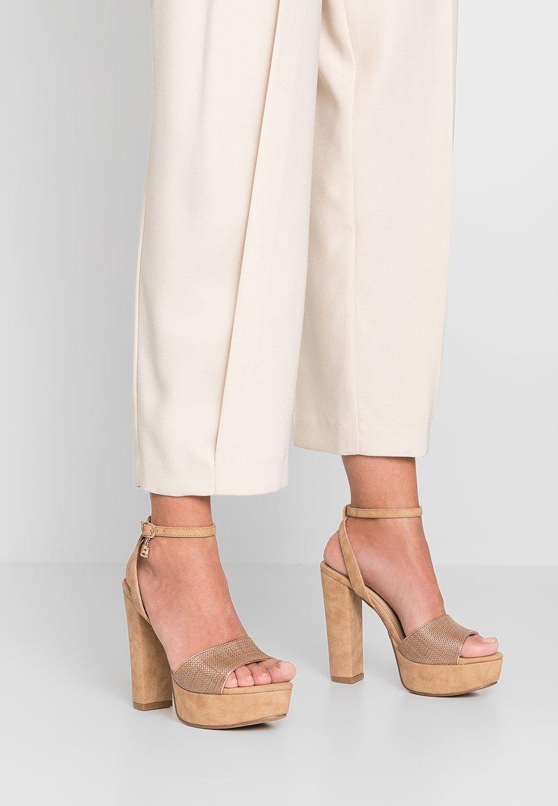 Laura Biagiotti - High heeled sandals - sand