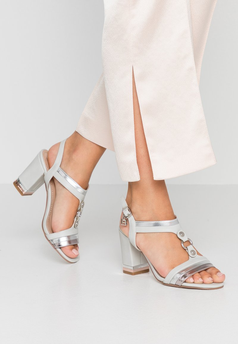 Laura Biagiotti - High heeled sandals - grey