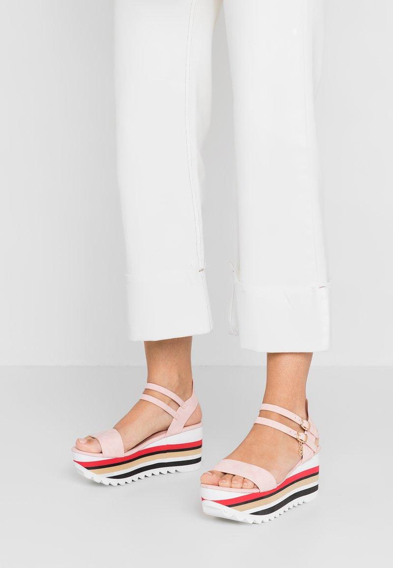 Laura Biagiotti - Platform sandals - pink