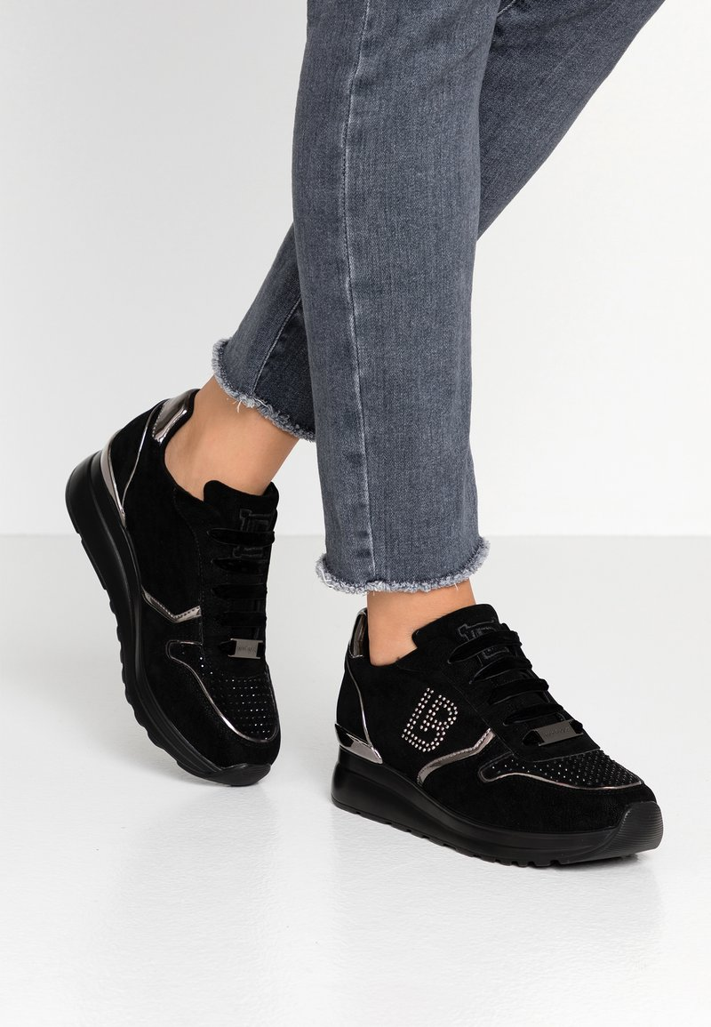 Laura Biagiotti - Sneakers laag - moon black