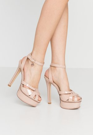 Sandalias de tacón - skin
