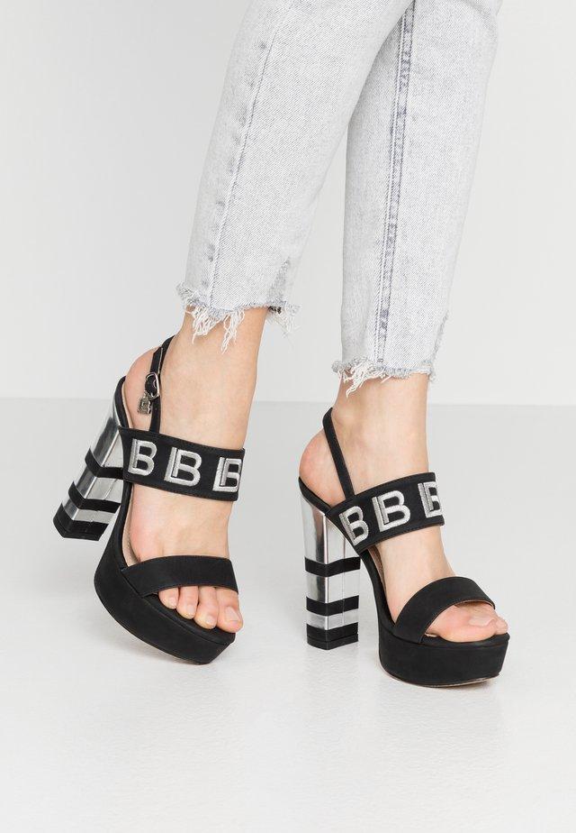 Sandaletter - black