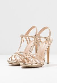 Laura Biagiotti - High heeled sandals - star light gold - 4