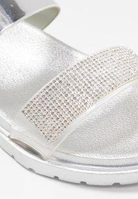 Laura Biagiotti - Sandals - mirror silver - 2
